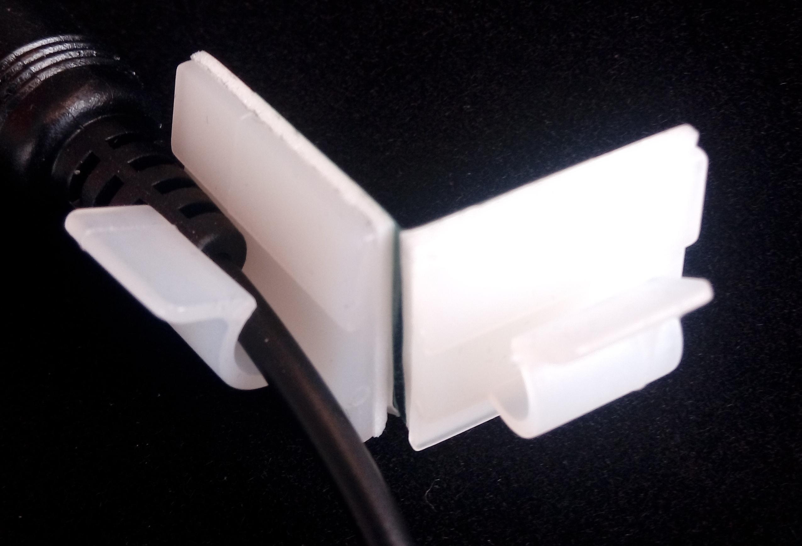 Kabelhalter mit Super-Haftkleber