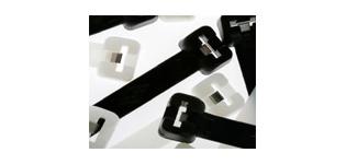 Kabelbinder mit Edelstahlzunge V4A