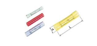 Isolierte Stoßverbinder 0,5 - 6 mm2