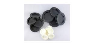Membrantüllen aus Weich-PVC